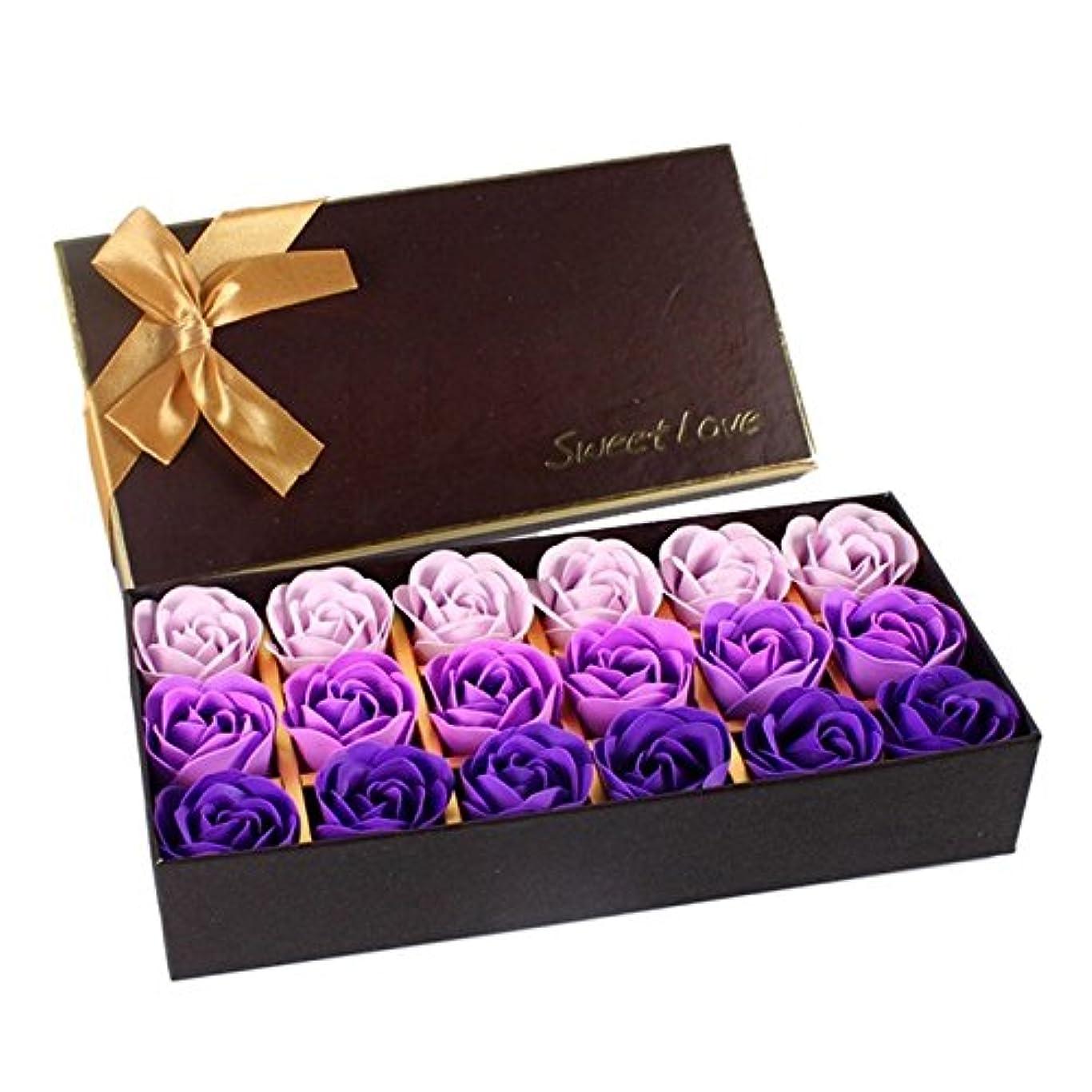矢続ける散らすローズ フラワーソープ 石鹸 薔薇 プレゼント お祝い ② #334