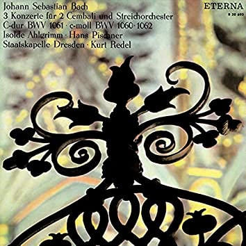 Bach: 3 Konzerte für 2 Cembali und Streichorchester