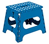 Arregui TB-027-A Taburete Plegable Multiuso, 27 cm de altura, Azul, 27 x 29 x 22...