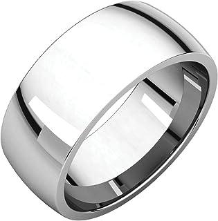 FB جواهر 925 الفضة الاسترليني 8 مم ضوء الراحة صالح الرجال خاتم الزفاف الفرقة