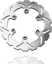 MC MOTOPARTS Rear Brake Disc Rotor 1 Piece For YAMAHA FZR 600 R 90-95 90 91 92 93 94 95 + FZR 600 1989 89
