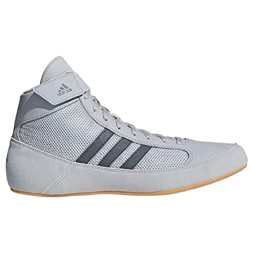 adidas Mens Boys HVC2 Wrestling Mat Shoe Ankle Strap 2 Colors AQ3325