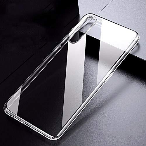 QWP Ultra Fina Adelgaza TPU Caja del teléfono for Xiaomi Mi 6 8 9 SE Lite for redmi 3S Pro Plus 5 4A 5A 6A Pro 6 7 8 7A 8A Nota 6 Cubierta 7 8T 4 (Color : Clear, Material : Redmi 4X)