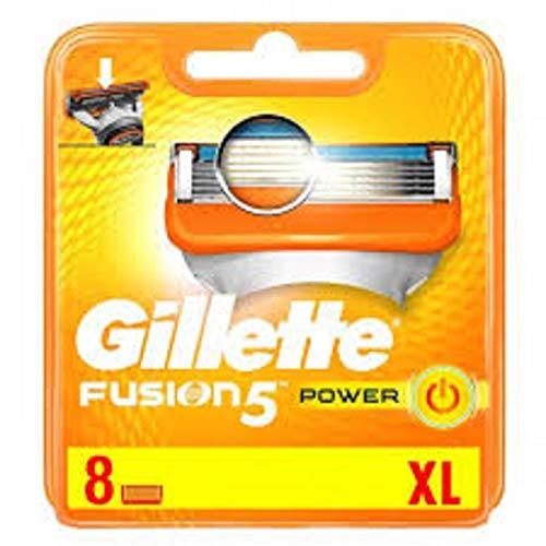 Auslaufmodell Gillette Fusion Power RasierKlingen, 8 Stück(2014-Edition)