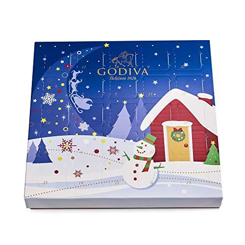 GODIVA Chocolatier Holiday Gourmet Chocolate Advent Calendar 2020