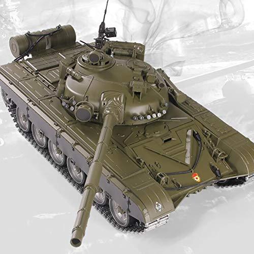 Deliya Panzer Ferngesteuert Mit Schussfunktion Russland T 72 Heng Long 1:16 Mit Rauch&Sound Und Stahlgetriebe,Battery*3