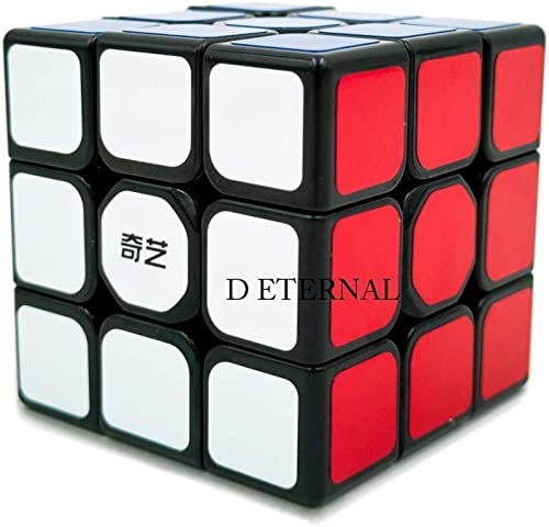 D ETERNAL Qiyi Sail Speed Cube 3X3x3 Puzzle Game Toy 5 6Cm Multicolor