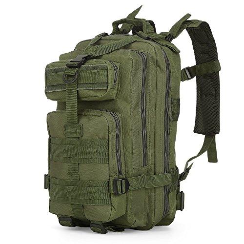 Deportes al aire libre Mochila Camping Senderismo Mochila Militar Camo Tactical 3P Mochila Ejército…