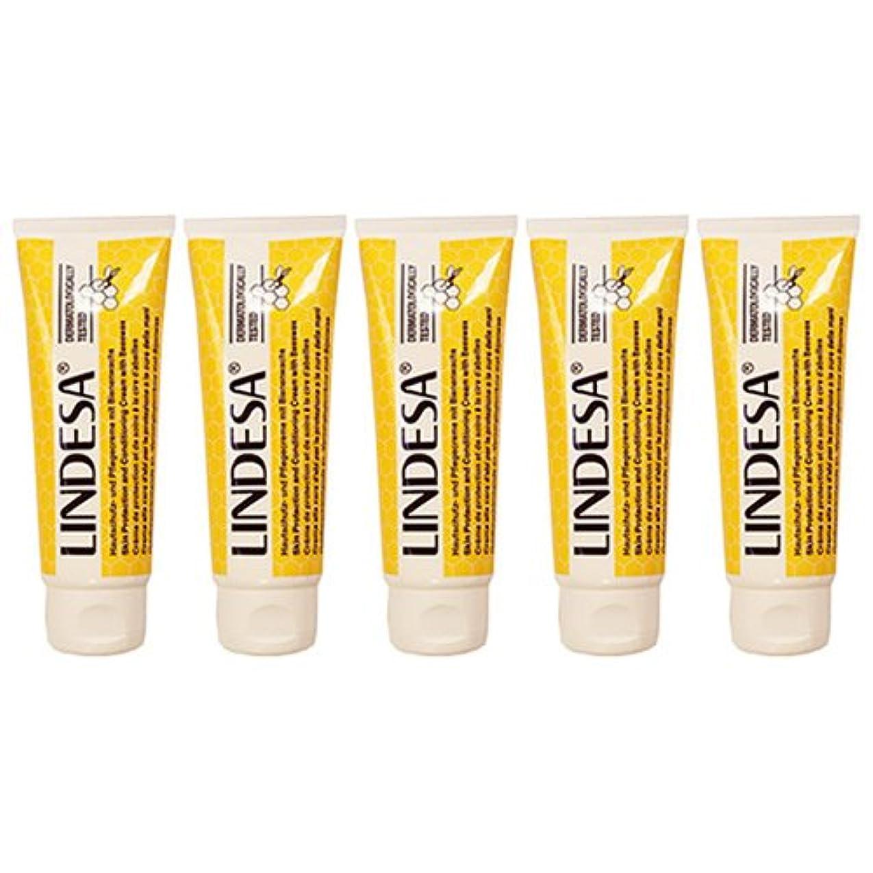 あからさまニュース急いでLINDESA リンデザ ハンド&スキンケアクリーム 75ml 日本国内正規品 5本セット