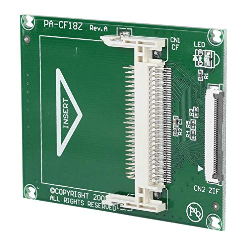 logozoe Cf-Adapterkarte, mit 2 ZIF-Kabeln Robuste SSD-Festplattenadapterkarte, 1,8 Zoll für alle Cf-Karten Typ I, Ii und Microdrive