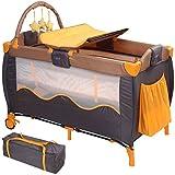 Kinderreisebett - 126/66/82cm, bis 15 kg belastbar, faltbar, höhenverstellbar, inkl. Wickelauflage,...