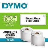 Dymo LW Etichette per Indirizzi Grandi, Autoadesive, per Etichettatrici LabelWriter, Origi...