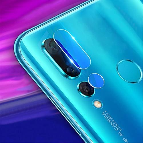 BEIJING LENSPROTECTOR / 50 pcs Soft Fiber Back Cámara Lente de la Lente Película de Vidrio Templado para Huawei P Smart + 2019 / Maimang 8
