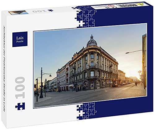 Lais Puzzle Architektura ulicy Piotrkowskiej w Lodz 100 części