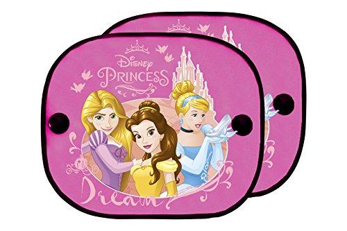 ABC PARTS Princesas Disney PRIN101 Cortinillas para Coche, Set de 2