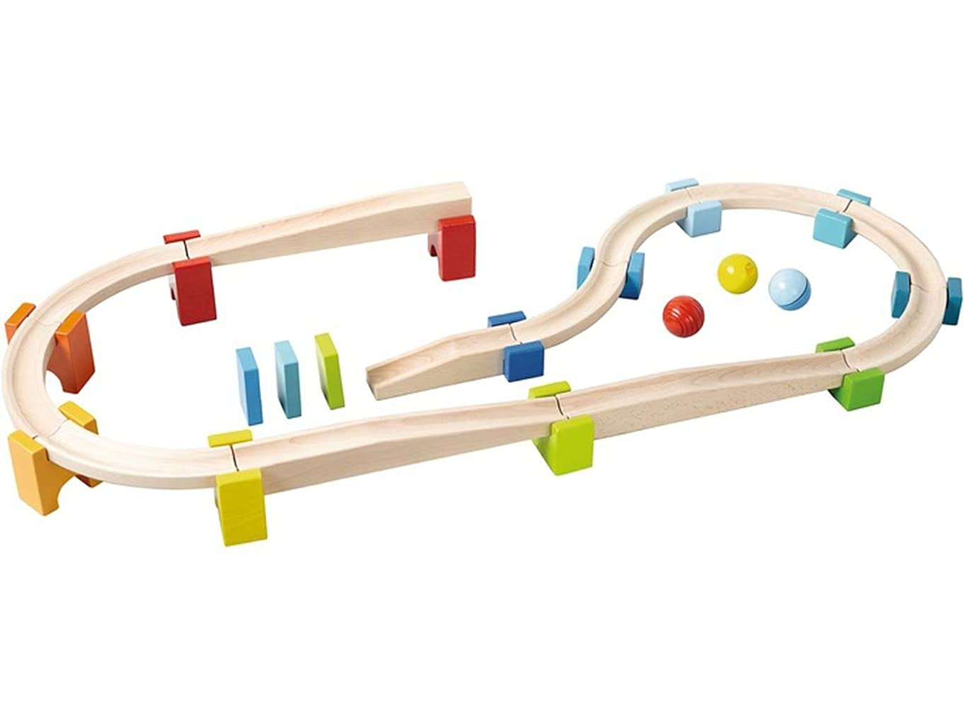 HABA My First Ball Track - Large Starter Set 30 Piece Building System (Made in Germany)