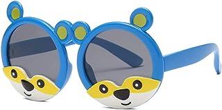 Pteng - rayos ultravioleta gafas de sol polarizadas UV400 protección gafas moda cómodas gafas de montura flexible de silicona para niños y niñas de 3 a 12 años