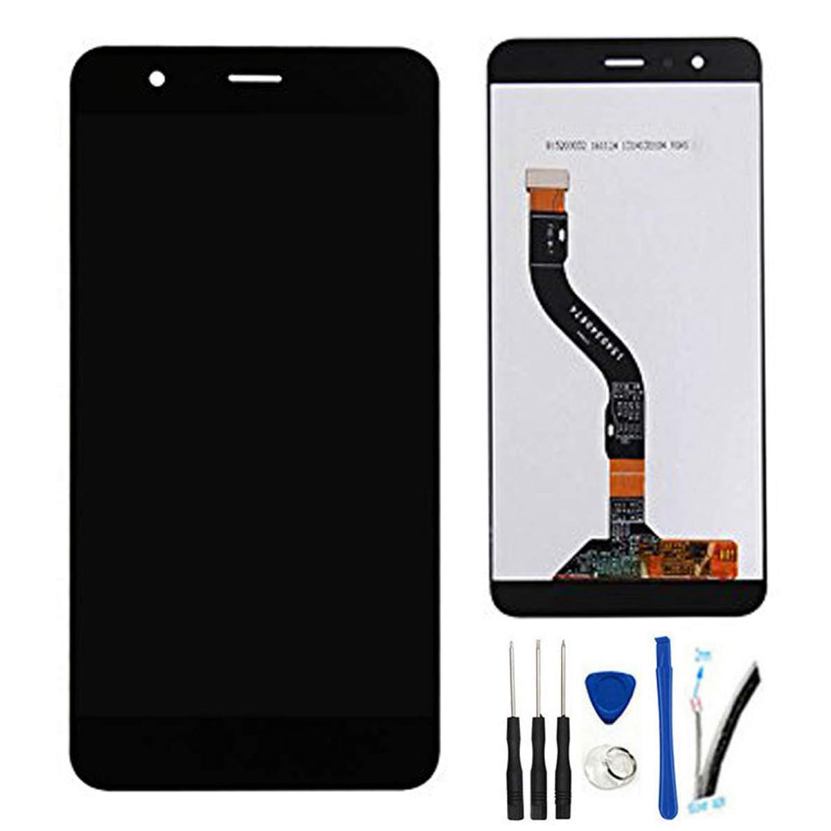SOMEFUN Pantalla Táctil LCD de Digitalización Asamblea Pantalla de Recambio para Huawei P10 Lite P10Lite WAS-LX2J Was-LX2 Was-LX1 WAS-L03T Was-LX3 WAS-LX1A (Negro): Amazon.es: Electrónica