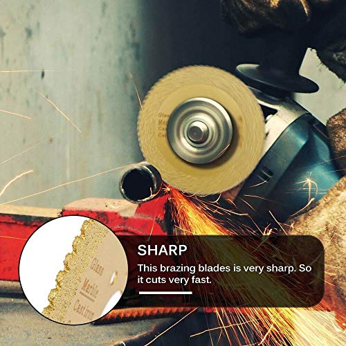 KEKEYANG Madera Mini hoja de sierra circular giratoria cortador de madera de corte de acero duro de sierra circular varilla de perforación de corte de hoja de corte punto Herramientas