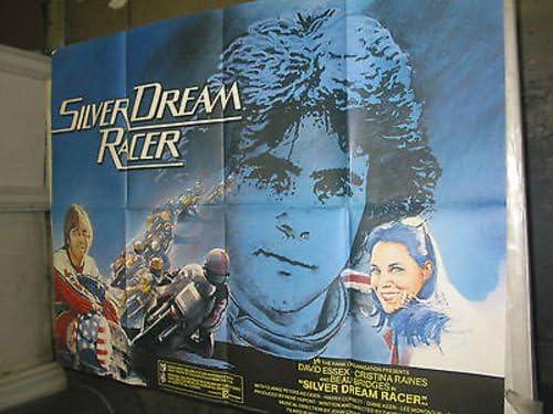 SILVER Los Angeles Mall Max 71% OFF DREAM RACER ORIG. BRITISH QUAD POSTER ESSE MOVIE DAVID