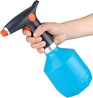 Rechargeable Watering Can, Indoor Plant Mister Spray Bottle for Plant Flower with Adjustable Spout, 32 Ounce Handheld Tiny Continuous Automatic Water Mister Plastic Sprayer Cleaning Solutions