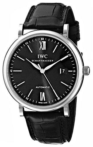 IWC IW356502 Montre bracelet Homme, Cuir