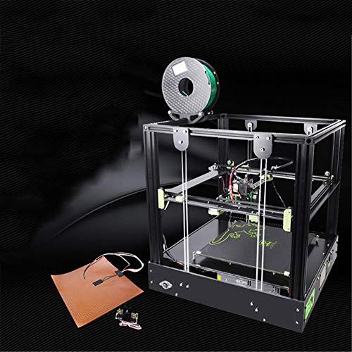 LJW FDM Imprimante 3D Métal 0.1mm Bluetooth USB Fente pour Carte Mémoire 400X420x375mm