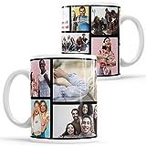 Pandango Tazza Insta Foto Layout Tazza Personalizzata Regalo con Collage Fotografico