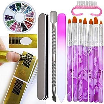 7-Pieces Eternal Classic Nail Art Tips Builder Painting Brushes Pen Set
