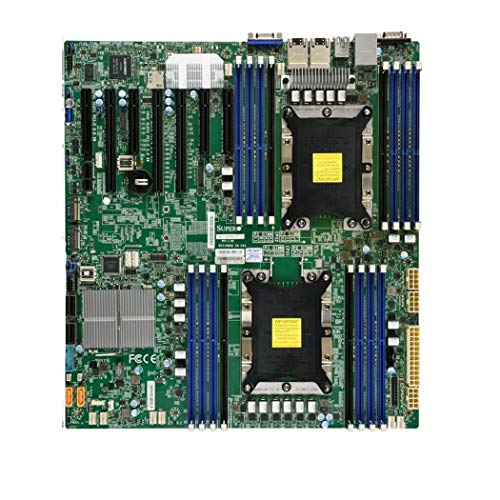 Supermicro x11dph-t LGA 3647 Extended ATX Server/Workstation Mainboard – Server/Workstation Mainboard (Extended ATX, Intel, LGA 3647, 10.4 GT/s, 205 W, DDR4-SDRAM)