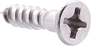 Square Drive 25-Pack Prime-Line Products Grade 18-8 Stainless Steel Flat Head #8 X 1 in Prime-Line 9202049 Wood Screws