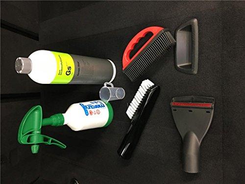 detailmate Koch Chemie Green Star Universalreiniger 1L Teppich Reinigung Set 6 teilig für Staubsauger Nass Trocken Sauger DN 35mm
