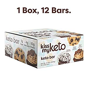 Kiss My Keto Bars - Low Carb (3g Net), Low Sugar Keto Snack Bars | Chocolate Variety Pack, 12 Pack | Rich in Ketogenic Fats & Protein #4