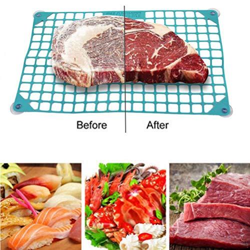 XIANGBAO Schnell Defrost Net Accelerated Abtauen Net Thawing Pad Fleisch Gemüse Abtauen Küche-Werkzeug Kein Strom, Keine Chemikalien, Keine Mikrowelle
