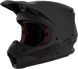 Fox V1 Matte Helmet, Ece Matte Black