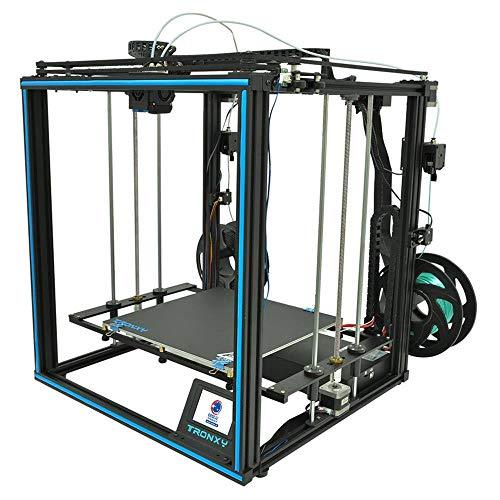 TRONXY X5SA-2E Stampante 3D prefessionali,ARM 32 bit stampante,Rilevatore di Filamenti,Touch screen3.5 pollici,Titan estrusore,CoreXY modalità di movimento 330 * 330 * 400 mm