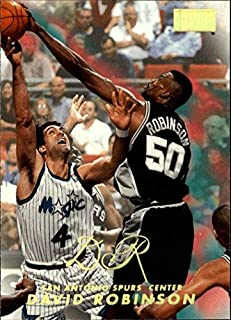 1998-99 SkyBox Premium #81 David Robinson NBA Basketball Trading Card