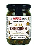 """""""The Tapas Sauce"""" Chimichurri Sauce (Peppers and Chili Sauce) Salsa Chimichurri in a Glass Jar of 6.35 oz (180 g) (Pack of 1)"""