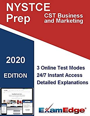 NYSTCE CST Business and Marketing (069) Certification Practice tests with detailed explanations. 20-Test Bundle with 2000 Unique Test Questions