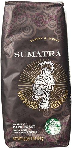 Starbucks Sumatra, Whole Bean Coffee (1lb)