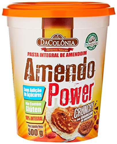 Amendopower Pasta Amendoim Crunchy Granulado Zero 500G