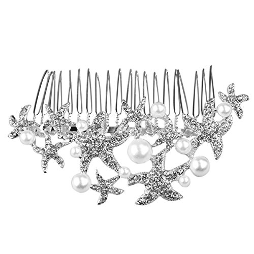 Wedding Comb Prom Bridal Bridesmaid Crystal Hairpiece Accessory