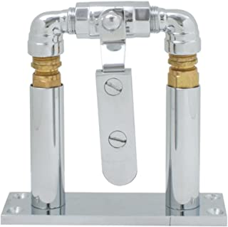 "Grand General 69977 Chrome 4"" Floor Mount Stand and Air Valve Lever Set for 69991 Train Horn"