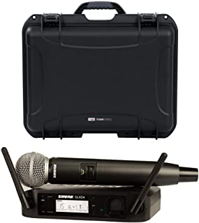 Shure GLXD24 Wireless Handheld Microphone System w/ SM58 & Case