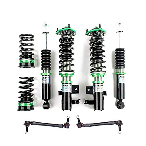 Rev9 R9-HPX-1134_1 Hyper-Street ONE Coilover Lowering Kit, Adjustable, Compatible With Honda Civic Si (FB/FG) 2014-15