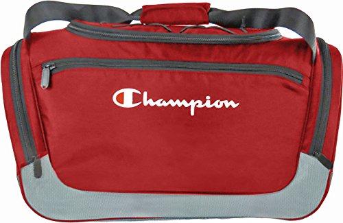 Champion Boost Duffle, Red/Granite, M