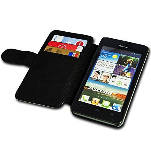 sw-mobile-shop Book Style Flip Handy Tasche Case Schutz Hülle Schale Motiv Etui für Huawei Ascend Y330 - Flip A39 Design9 - 5