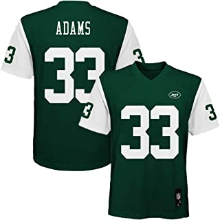 Outerstuff Jamal Adams New York Jets #33 Green Youth Home Mid Tier Jersey