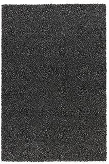 Ikea Rug, high Pile, Black, 5' 7