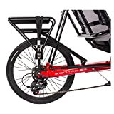 Sun Seeker Recumbent Rear Carrier Bike Rack Rr Sun Skr Eco-tad Aly Bk